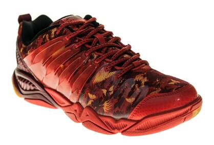 Buty Badminton Hero II Red Li-Ning AYTL039-1